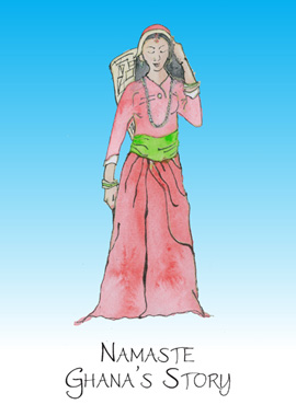 Namaste Ghana story